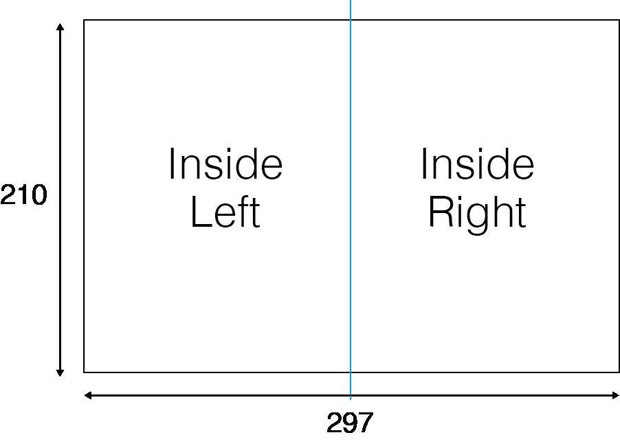 Folded Pamphlets - Inside