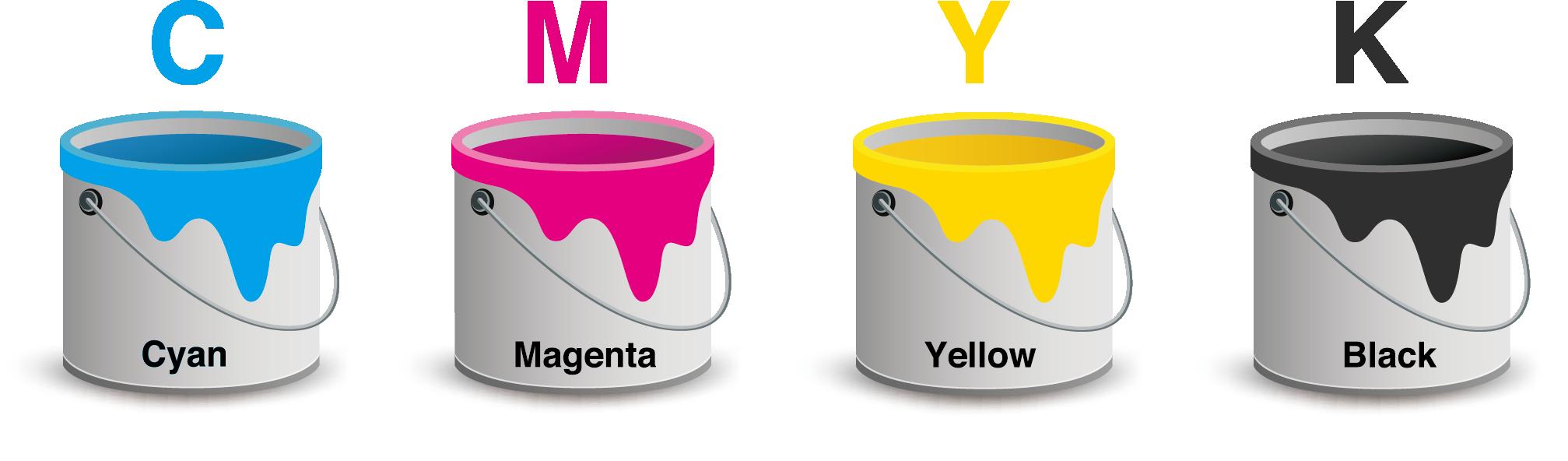 Full Colour Printing - CMYK 01 Image