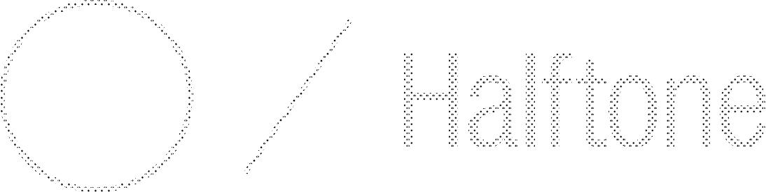 Halftones - K10%
