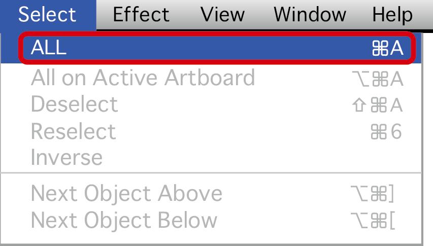 Text ot Outline - outline text in Illustrator 04 Image