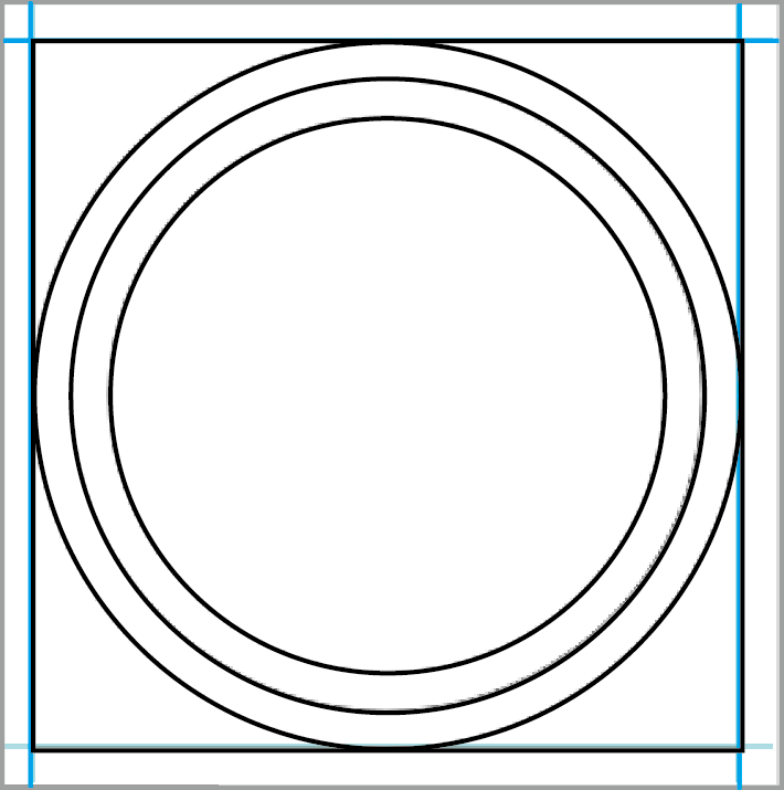 Photoshop Round Sticker - 05 Image