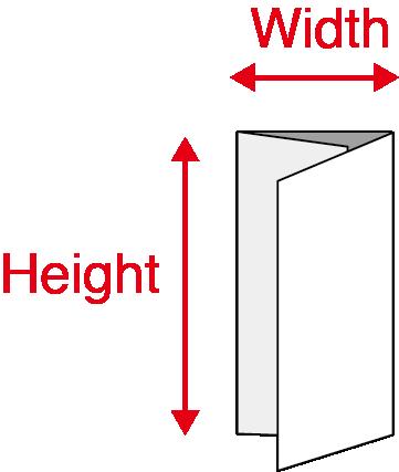 Folded Pamphlets - Trifolds Final Size