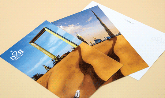 Express Postcards - Banner